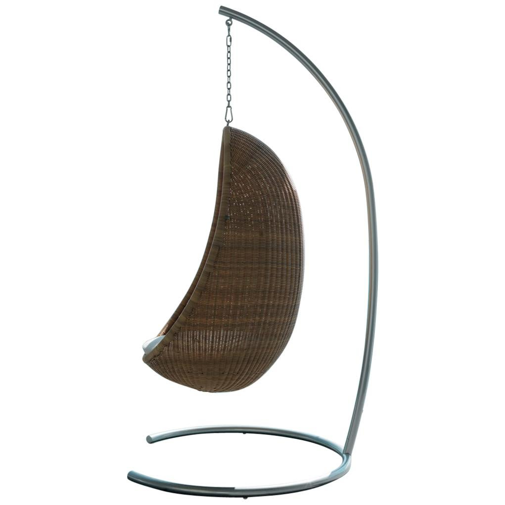 Hanging Egg Chair Outdoor 1950s Nanna Jorgen Ditzel Design Hanging Outdoor Egg Chair